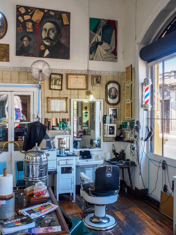 Friseursalon in Bario Brasil