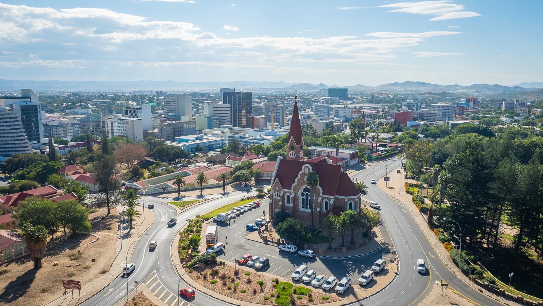 Windhoek von oben