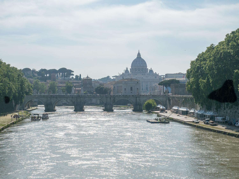 Tiber und Vatikan