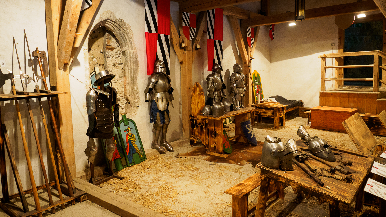 Waffenkammer in Predjama