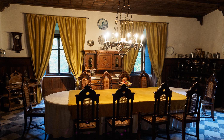 Interieur von Schloss Snežnik