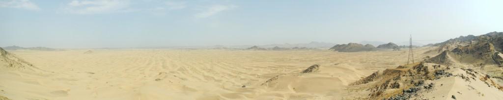 Wüstenpanorama vom Aussichtspunkt