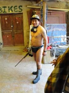 Einer der Guides für die Minen in Potosi