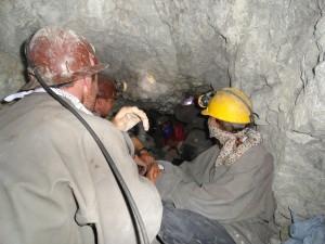 Im Bergwerk in Potosi