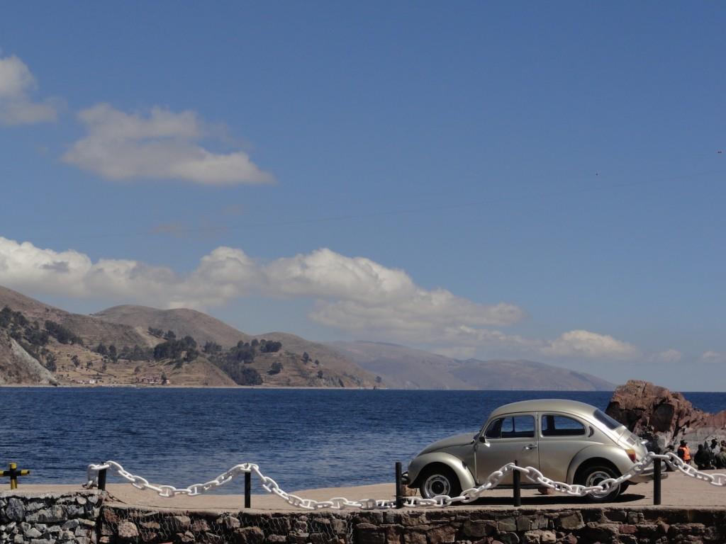VW Käfer am Titicacasee