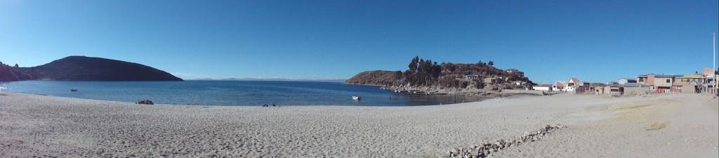Nordstrand auf der Isla del Sol