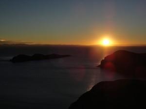 Sonnenuntergang auf der Isla del Sol