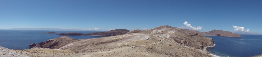 Überblick über den Nordteil der Isla del Sol