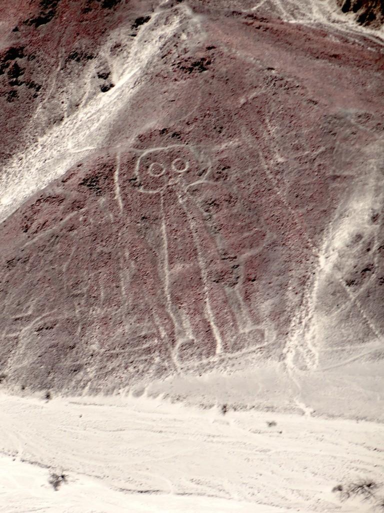 Nazca-Linien: Astronaut