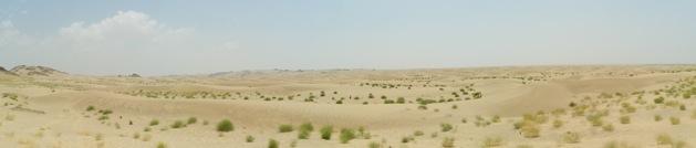 Wüsten Panorama bei Mekka