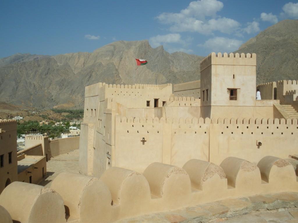 Festung und Oase von Nakhal