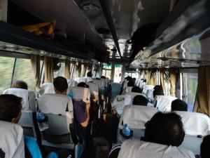 Busfahrt von Kathmandu nach Pokhara