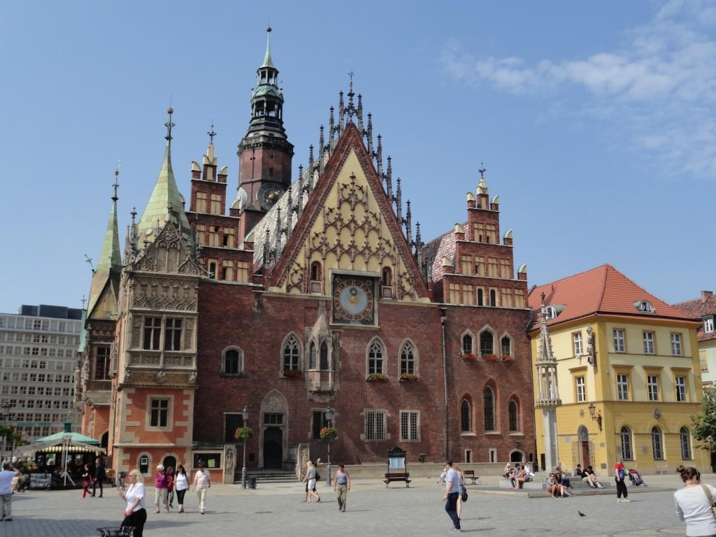 Rathaus von Breslau