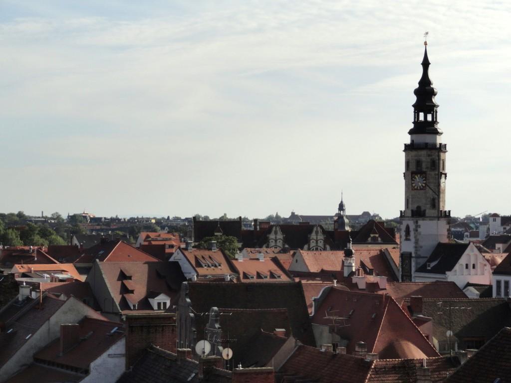Blick über die Dächer Görlitz