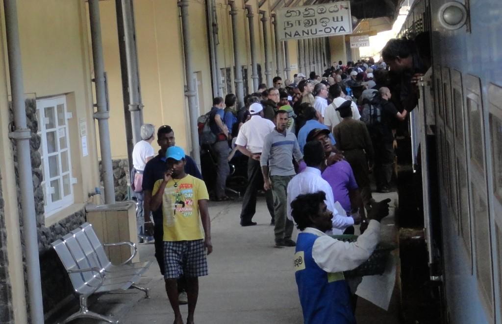 Bahnhof in Sri Lanka