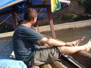 Immer in der Tasche - selbst im Amazonas