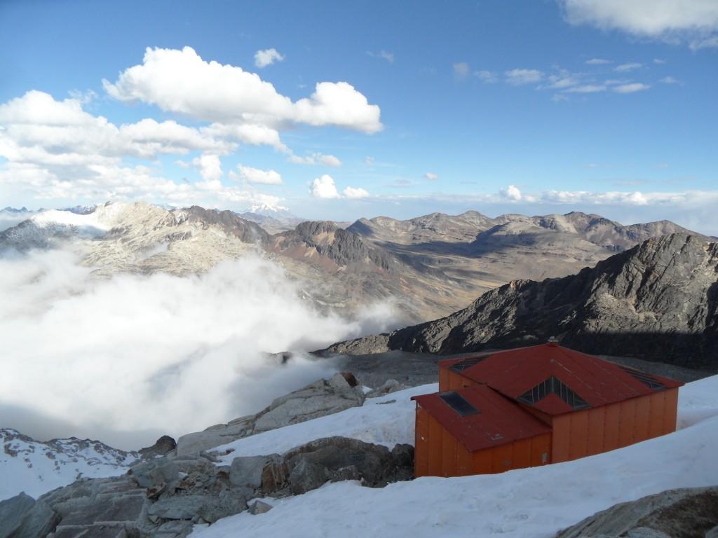Refugio auf 5300m