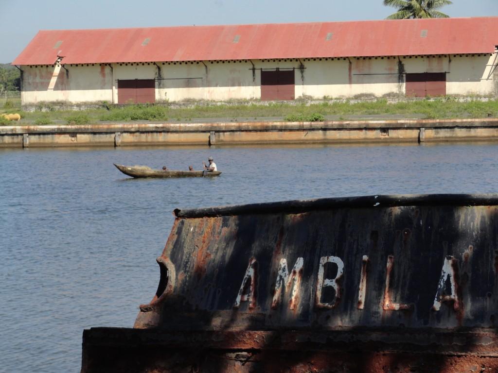 Hafen von Manakara