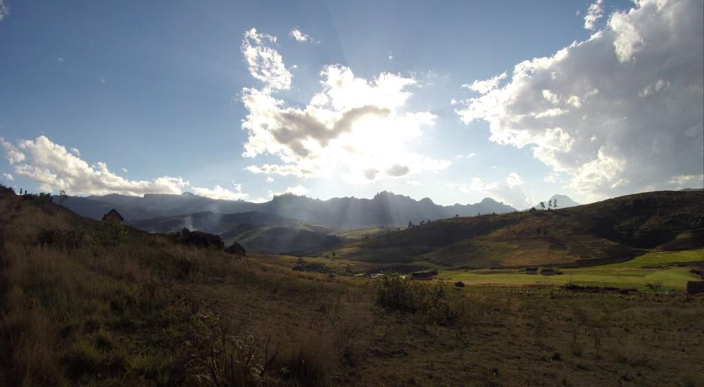 Andringitra Massif im Sonnenschein