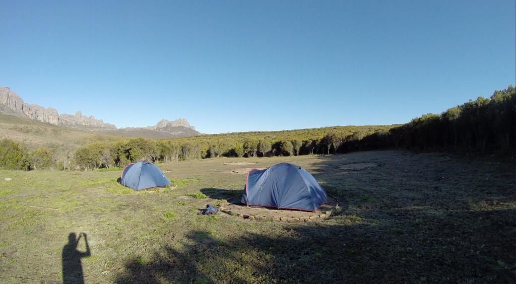 Zeltplatz im Andringitra Nationalpark