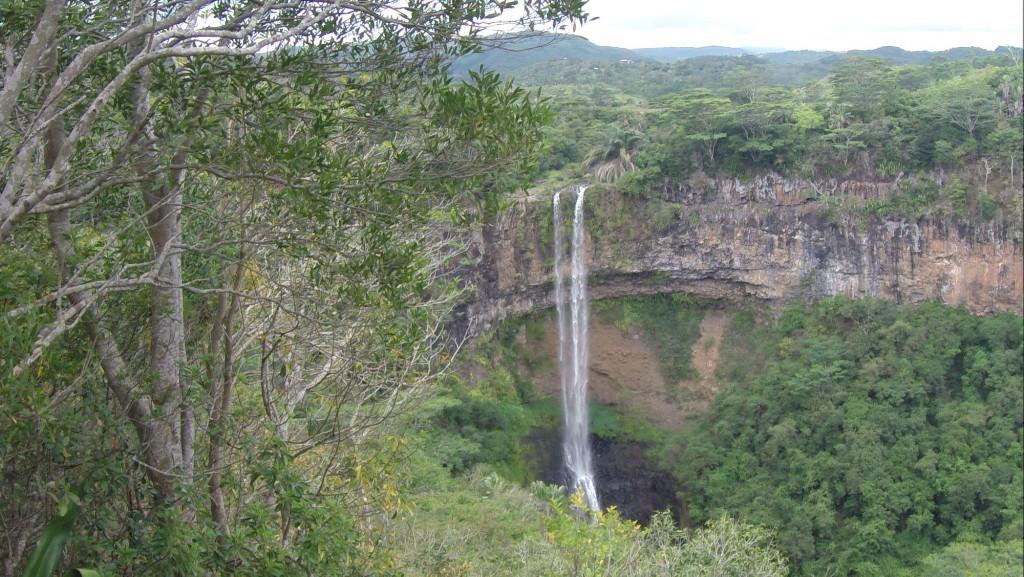 Wasserfall bei Chamarel