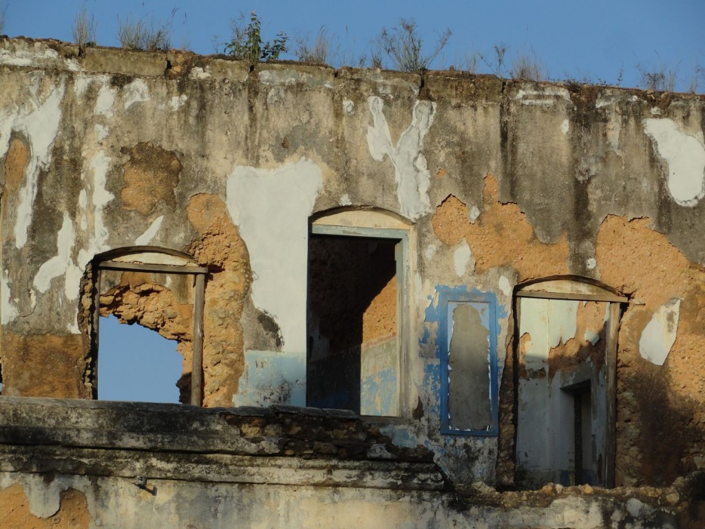 Ruine der ersten Boma in Tanga