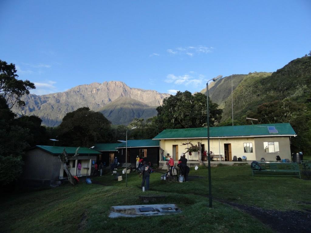 Miriakamba Hütte am Mt. Meru