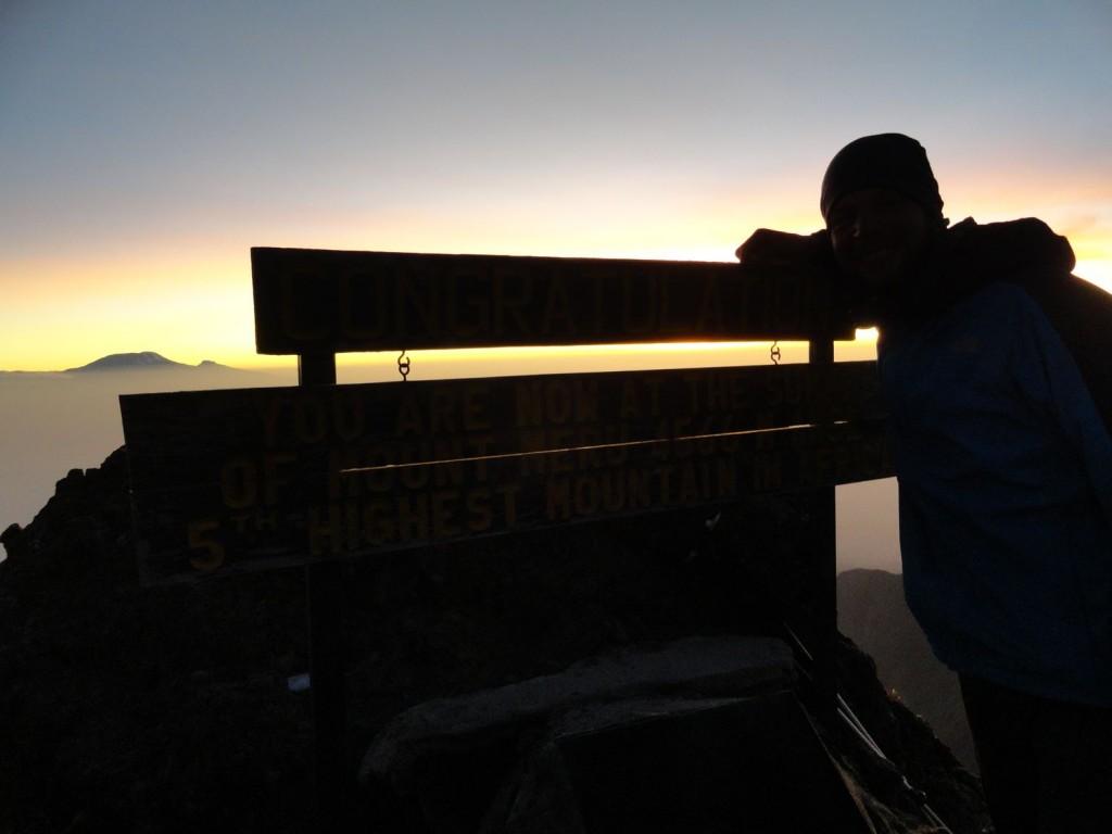 Gipfelfoto vom Mt. Meru