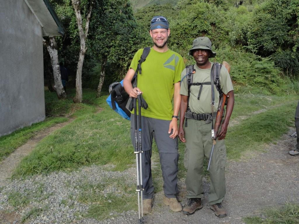 Mein Ranger Khalid und ich