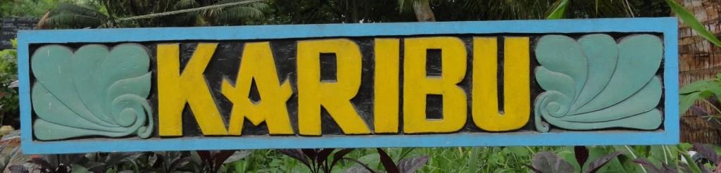 Karibu - Willkommen