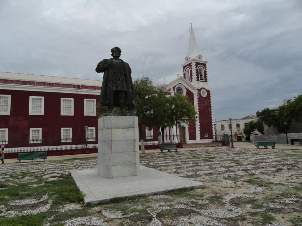 Vasco da Gama auf Ilha de Moçambique