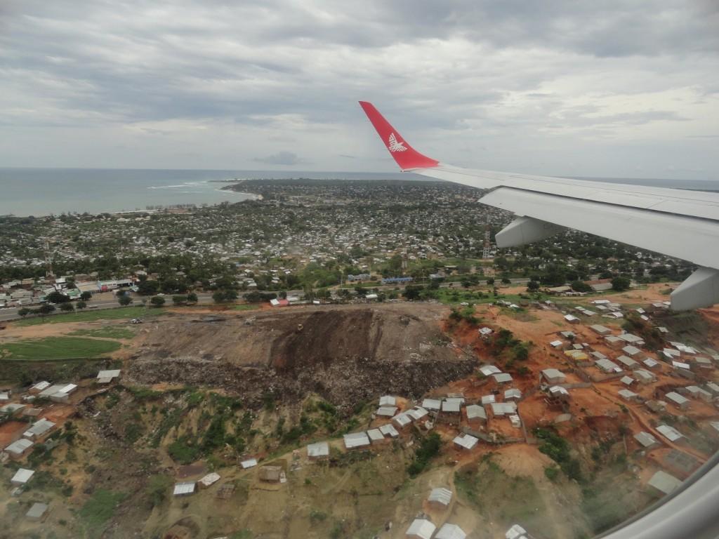 Rückflug nach Dar-es-Salaam