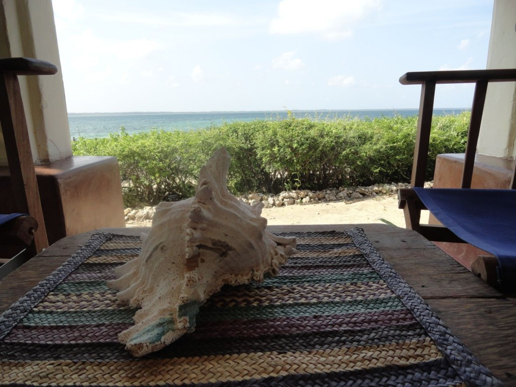 Aussicht über die Chole Bucht