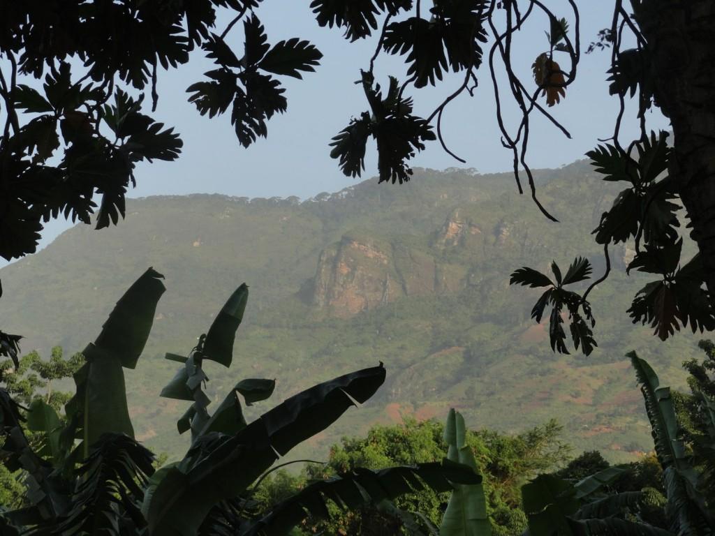 Uluguru Berge in voller Schönheit