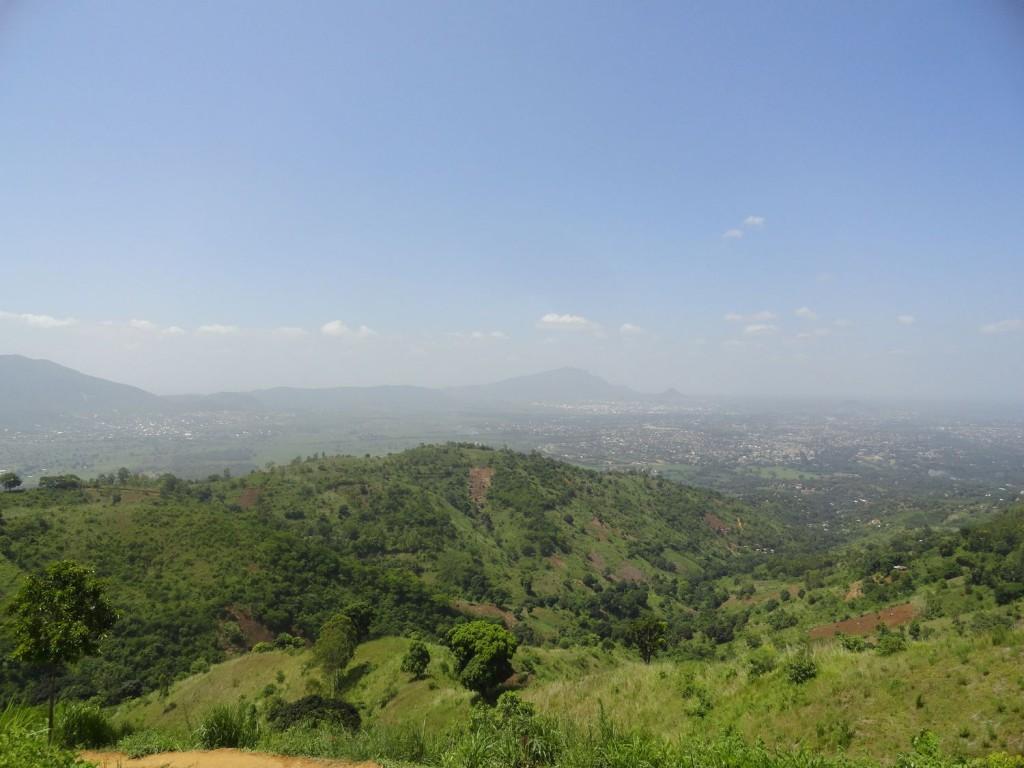 Blick über Morogoro
