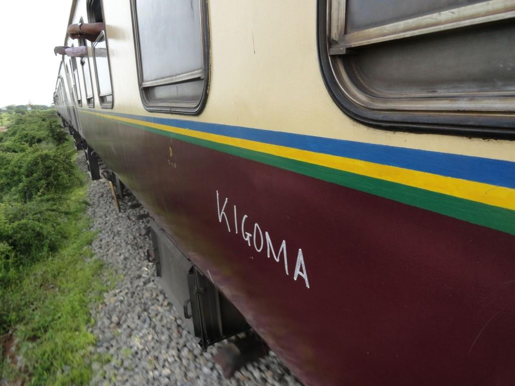 Wagen 1166 der Central Line nach Kigoma