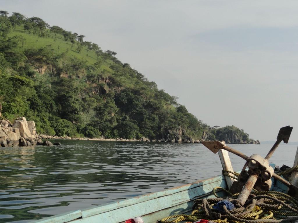 Mit dem Boot zum Nationalpark