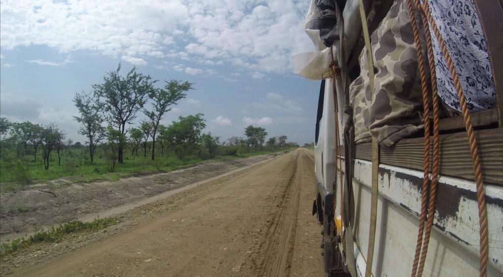 LKW-Chapa nach Pemba