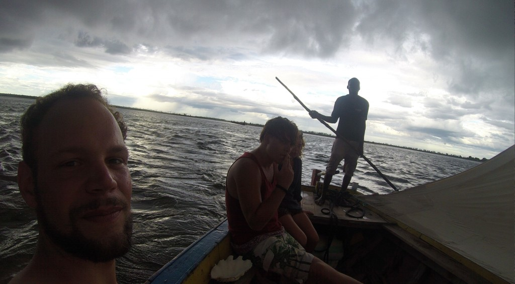 Dhow-Fahrt zurück zur Ilha de Moçambique