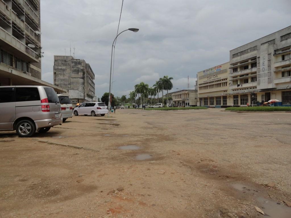Downtown Kisangani