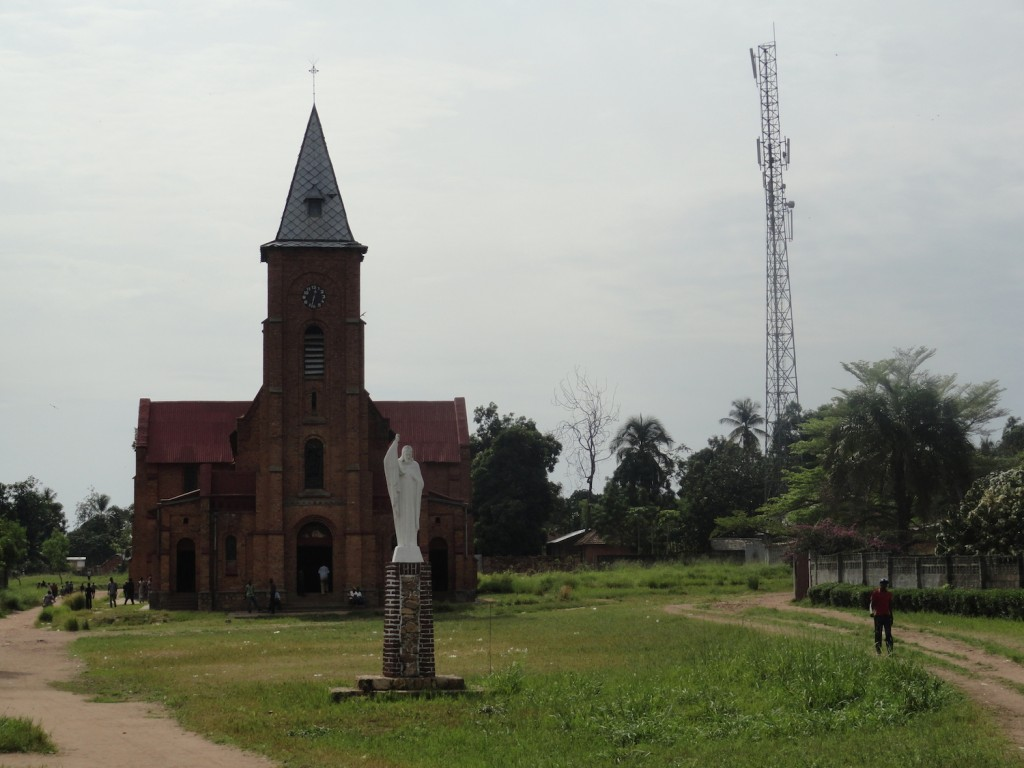 Catholic church in Lisala