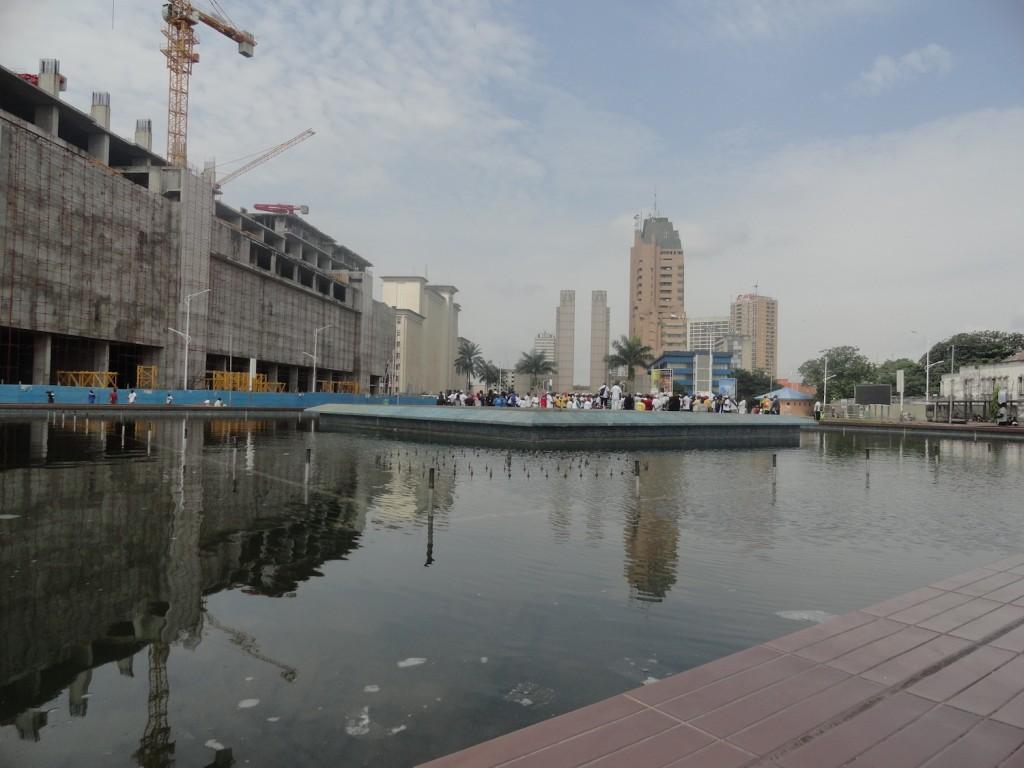Straße des 30. Juni in Kinshasa