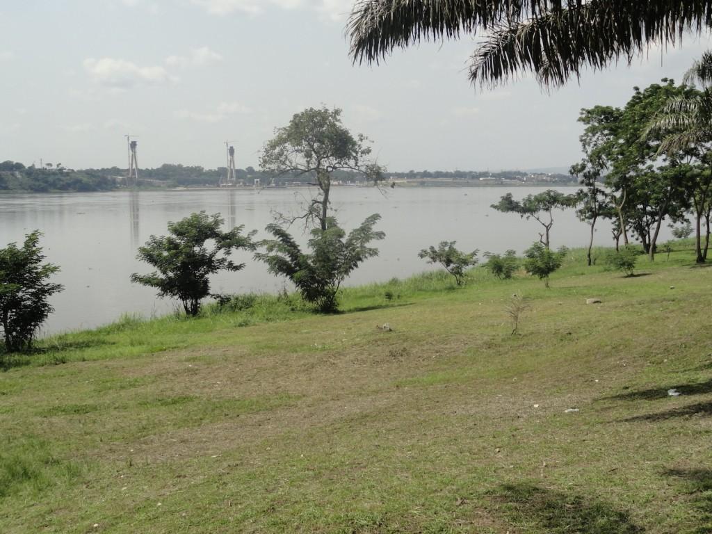 Blick nach Brazzaville