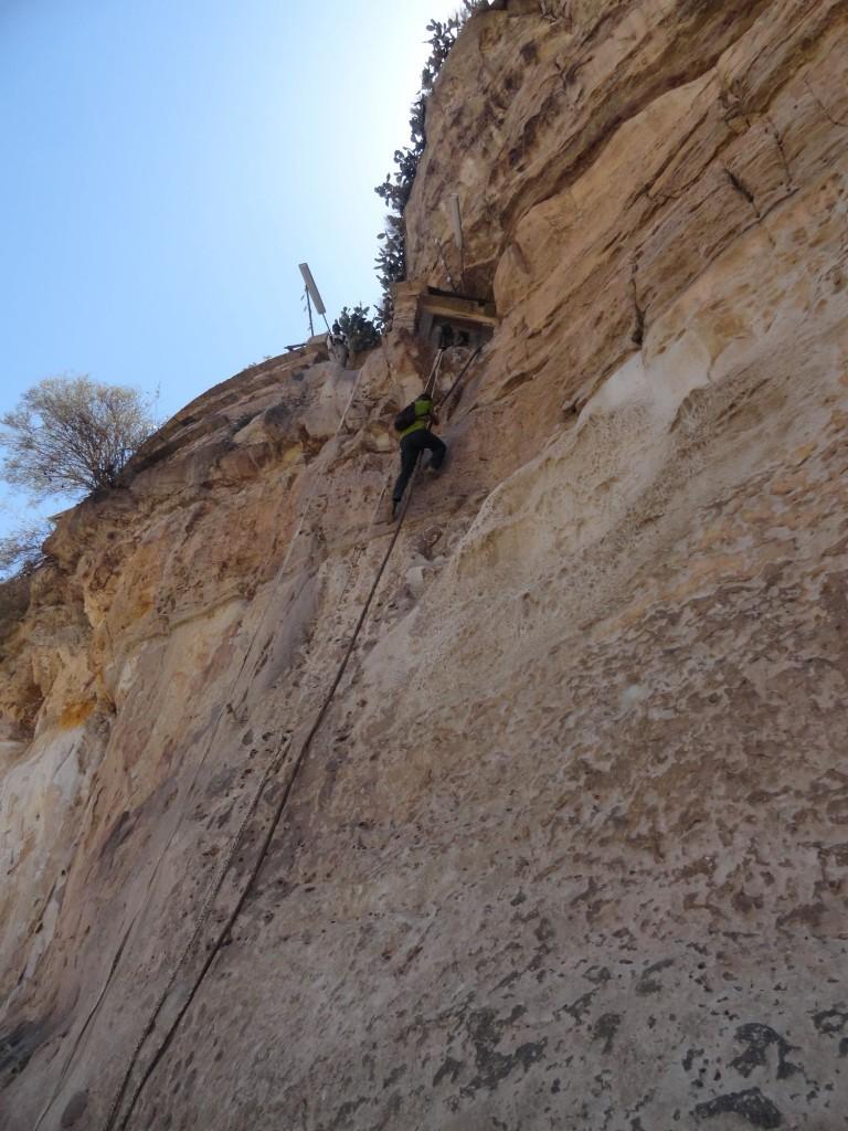 Steiler Aufstieg nach Debre Damo