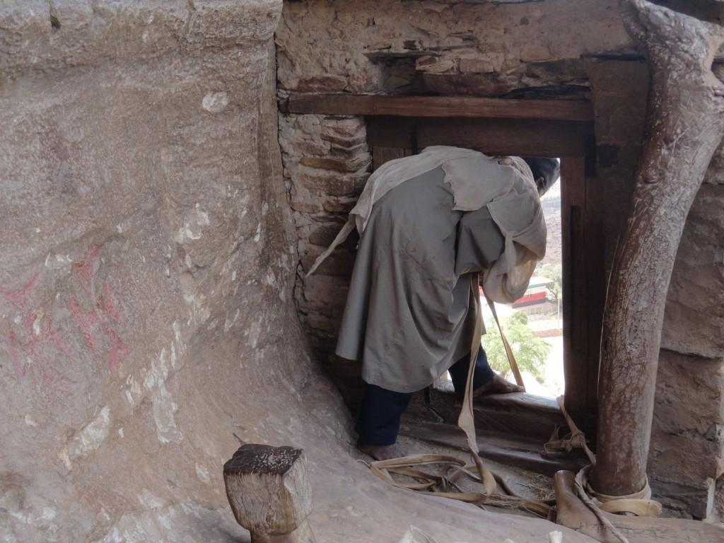 Kletterhilfe - Mönch von Debre Damo