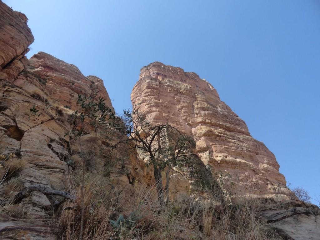 Felsen der Abuna Yemata Guh Kirche