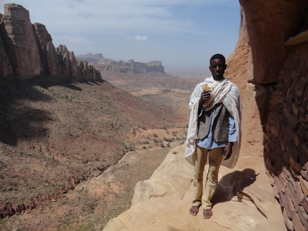 Priester von Abuna Yemata Guh
