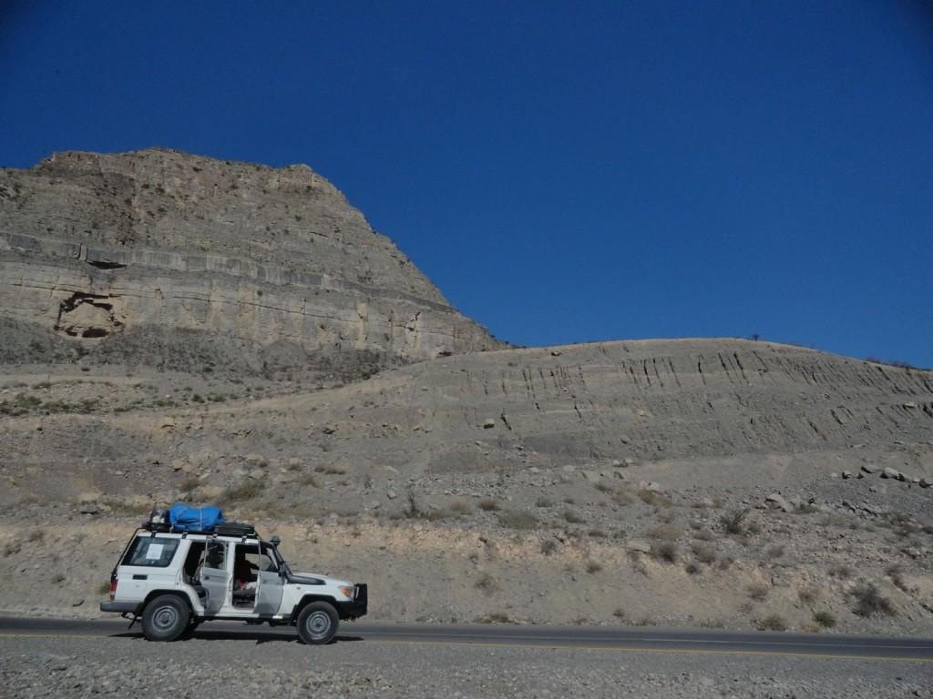 4x4 auf dem Weg in die Danakil-Senke