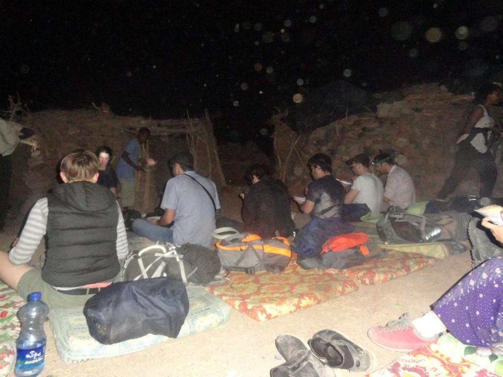 Camp auf dem Boden - Erta Ale