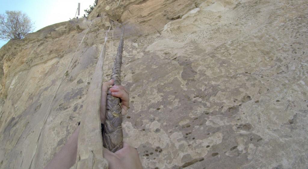 Am Seil nach oben - Debre Damo